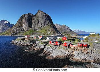 Norway village Reine