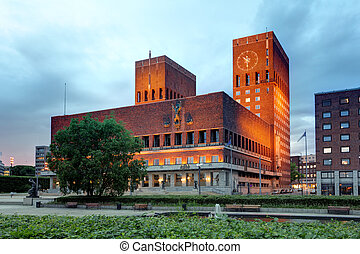 Oslo City Hall, Norway
