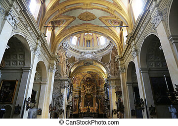 Church of Saint Vitale Parma Italy - Church of Saint Vitale...