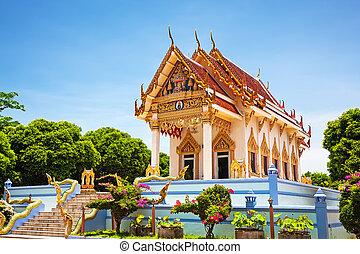 Thailand, Koh Samui, Kunaram Temple Wat Kunaram