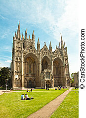 peterborough cathedral UK Cambridgeshire