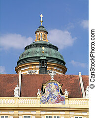 Cupola of St Peter and Paul church - Melk Abbey is...