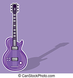 Guitar Electric - guitar electric eps illustration clip-art...