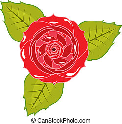 Rose Vector - rose vector illustration clip-art eps
