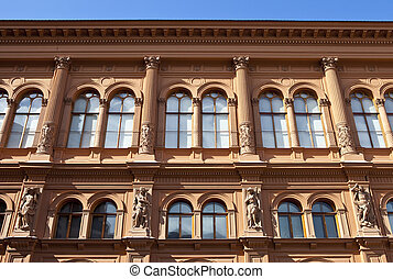 Riga Bourse Art Museum - The facade of the Riga Bourse Art...