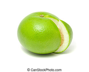 Green Grapefruit (Jaffa Sweetie) - A green grapefruit (Jaffa...