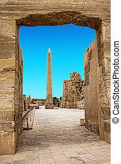 Obelisk of Queen Hapshetsut in Karnak, Egypt
