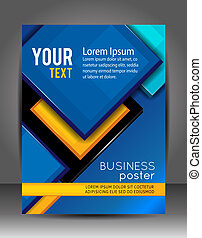 Abstract Business Background Layer template Brochure or...