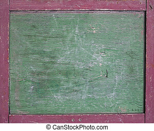 Old school board - old green school board with a scratches...