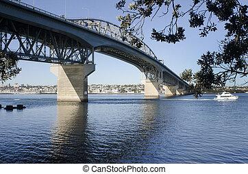 Auckland Harbour Bridge - New Zealand - AUCKLAND,NZ - MAY 27...