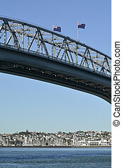 Auckland Harbour Bridge - New Zealand - AUCKLAND,NZ - MAY 27...