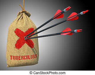 Tuberculosis - Arrows Hit in Red Mark Target. - Tuberculosis...