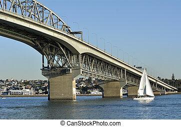 Auckland Harbour Bridge - New Zealand - AUCKLAND,NZ - MAY 28...