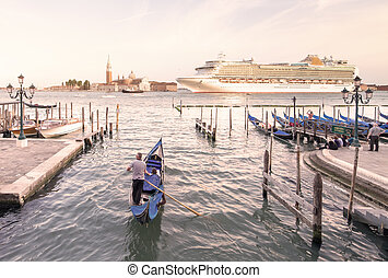 View of San Giorgio Maggiore church in Venice - Beautiful...