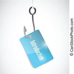 hook introduction tag illustration design