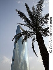 "Kingdom tower - ""Kingdom tower\"" skyscraper in Riyadh..."