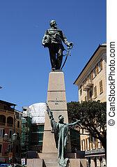 Italia, Emanuele, ligure, santa, monumento, Vittorio,...