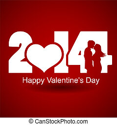 Happy Valentine Day for 2014 new year