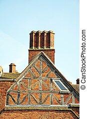 Bishops house detail, Lichfield.