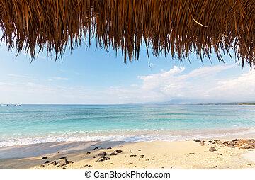 Beach on Gili - Tropical beach in Gili