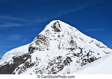 Monch montain (Jungfrau region, Bernesse alps, Switzerland)