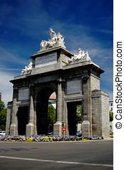 Puerta de Toledo, Madrid - Toledos gate or Puerta de...