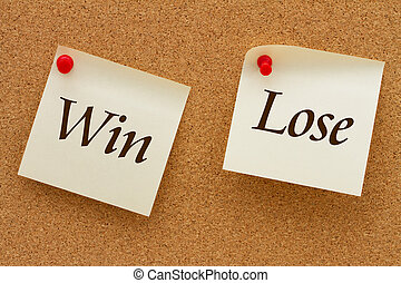 Win versus Lose