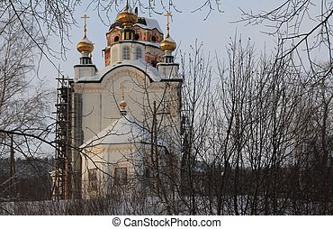 Holy Russia - Russian Church in Brekhovo village, Perm...