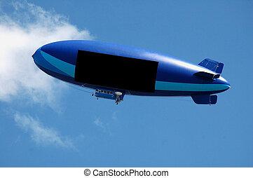 dirigible no rígido, vuelo