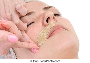 bigode, depilação