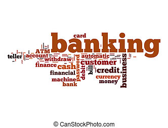 Banking word cloud