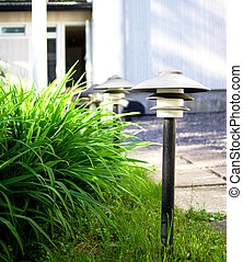 Front yard lamps