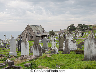 Graveyard on Great Orme's Head, North Wales