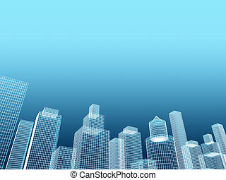 corporate building real estate illustration - corporate...