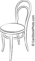 Chair drawing