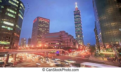Nice view of Taipei City, Taiwan for adv or others purpose...