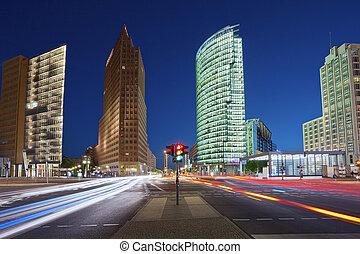 Potsdamer Platz Berlin. - Image of Potsdamer Platz in Berlin...