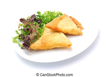 Samosa pastry - Two traditional South African Samosa pastry...