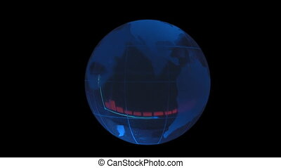 globe on background graphics