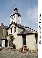 Laugharne Town Hall - The dinky little town hall in the...