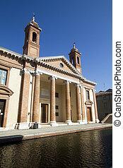 comacchio - View of Comacchio in italy
