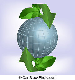 Green planet, ecology.