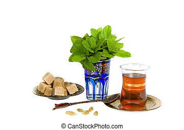 Traditional mint tea