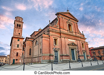 the Cathedral of Imola, Emilia Romagna. Italy
