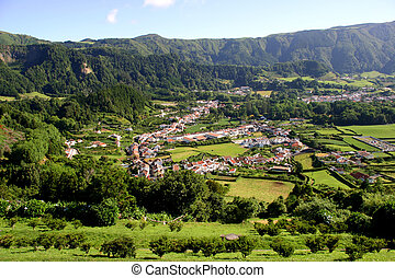 village - azores village of furnas