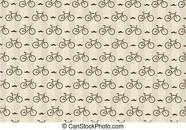 hipster background with a bicycle