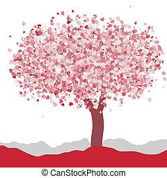 Love card design. Wedding or Valentine. EPS 8