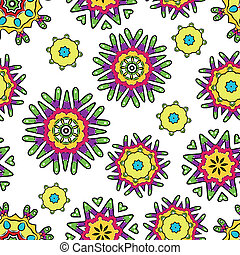 Abstract seamless pattern for your design