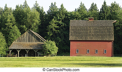 The Old Farm - Rustic Barn