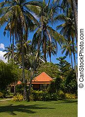 Beach house - Tropical beach house on the island Koh Kood,...